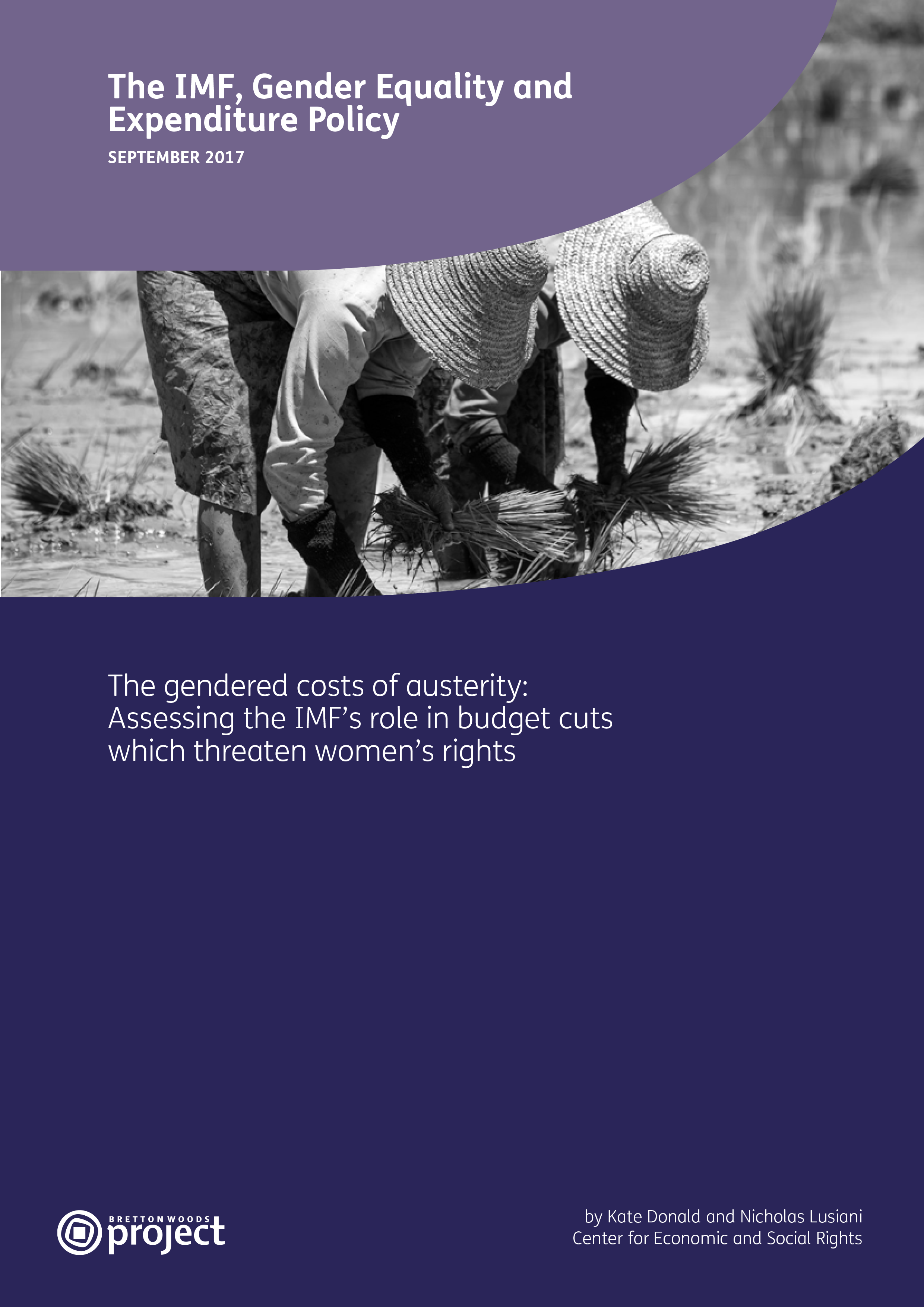 The Imf Gender Equality And Expenditure Policy Cesr