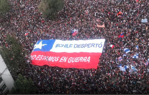protests inequality Chile Lebanon