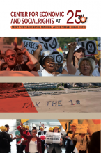 Center for economic and social rights brochure